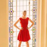 Vestido de la colección invierno 2014 de Laura Bernal