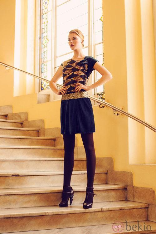 Look de la colección invierno 2014 de Laura Bernal