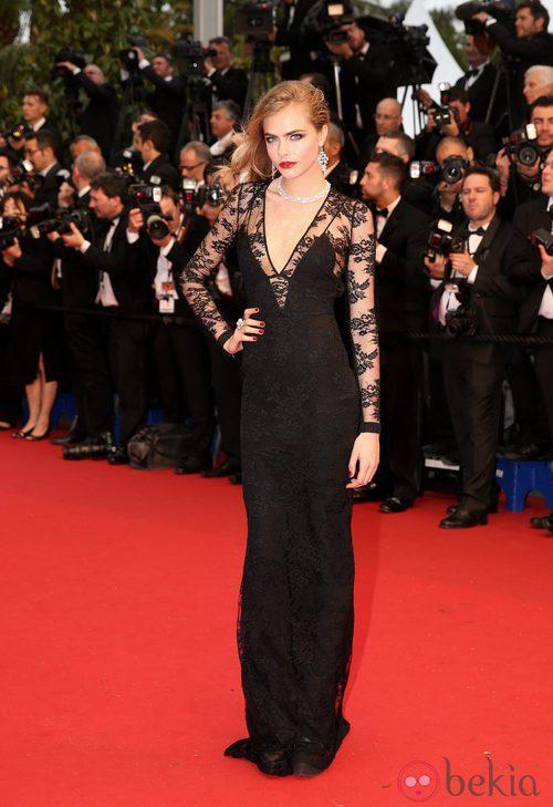 Cara Delevingne en el Festival de Cannes 2013