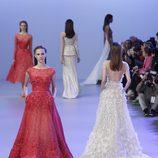 Vestidos joya de la colección primavera/verano 2014 Alta Costura de Elie Saab en la Semana de la Moda de París