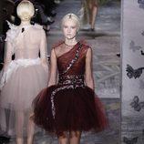 Vestido bailarina de la colección primavera/verano 2014 Alta Costura de Valentino en la Semana de la Moda de París