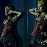 Kate Moss presenta la campaña primavera/verano 2014 de Alexander McQueen