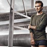 David Bekcham en la campaña de la colección Bodywear primavera/verano 2014 de H&M