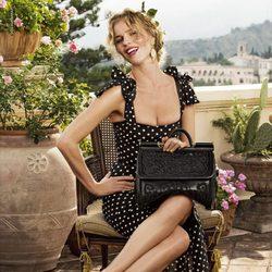 Eva Herzigova, imagen de la primavera/verano 2014 de Dolce & Gabbana