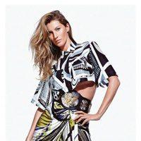 Gisele Bundchen, imagen de la colección primavera/verano 2014 de Emilio Pucci