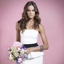 Izabel Goulart con vestido de la colección primavera/verano 2014 de Suiteblanco