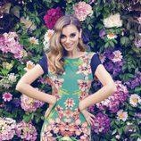 Norma Ruiz con un vestido reversible de la colección primavera/verano 2014 Barbarella