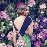 Norma Ruiz con un vestido estampado de la colección primavera/verano 2014 de Barbarella
