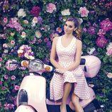Norma Ruiz con un vestido oldie de la colección primavera/verano 2014 de Barbarella