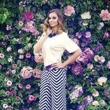 Norma Ruiz con un look de la colección primavera/verano 2014 de Barbarella