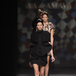 Carrusel final de AA de Amaya Arzuaga en Madrid Fashion Week otoño/invierno 2014/2015