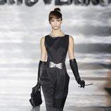 Audrey Hepburn en el desfile de Roberto Verino en Madrid Fashion Week otoño/invierno 2014/2015