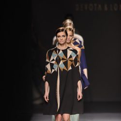 Carrusel final de Devota & Lomba en Madrid Fashion Week otoño/invierno 2014/2015