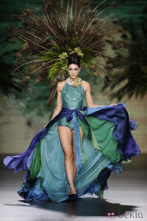Propuesta de la colección otoño/invierno 2014/2015 de Francis Montesinos en Madrid Fashion Week