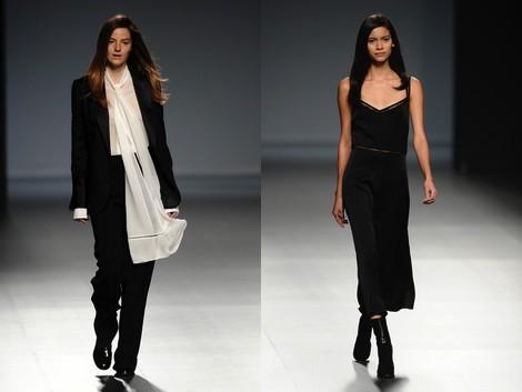 Look de la colección otoño/invierno 2014/2015 de Ángel Schlesser en Madrid Fashion Week
