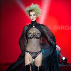 Body de encaje de la colección otoño/invierno 2014/2015 de Andrés Sardá en Madrid Fashion Week