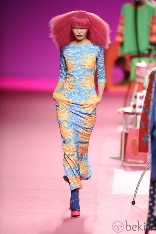 Look de la colección otoño/invierno 2014/2015 de Agatha Ruiz de la Prada en Madrid Fashion Week