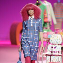 Vestido tipo camisa de la colección otoño/invierno 2014/2015 de Agatha Ruiz de la Prada en Madrid Fashion Week