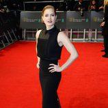 Amy Adams con un vestido de Victoria Beckham en la alfombra roja de los Premios BAFTA 2014