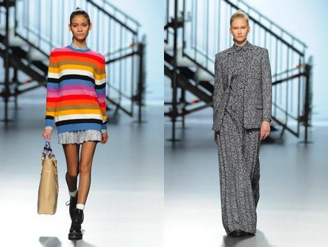 Look de la colección otoño/invierno 2014/2015 de Davidelfin en Madrid Fashion Week