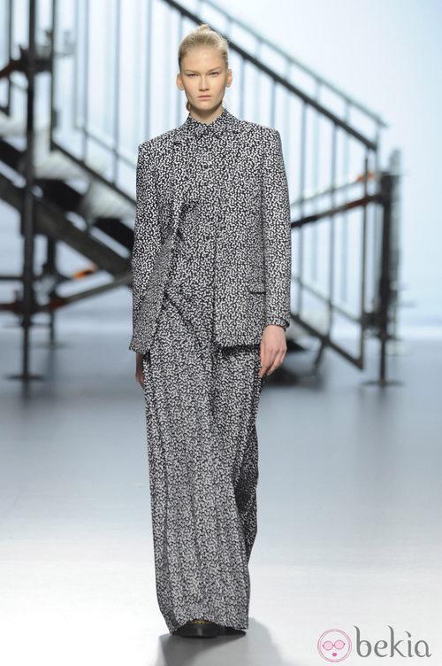 Vestido de la colección otoño/invierno 2014/2015 de Davidelfin en Madrid Fashion Week