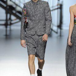 Desfile de Davidelfin en Madrid Fashion Week otoño/invierno 2014/2015