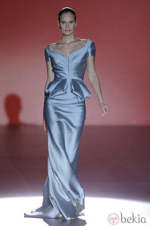 Propuesta de la colección otoño/invierno 2014/2015 de Hannibal Laguna en Madrid Fashion Week