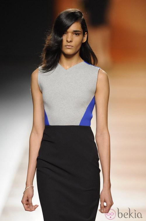 Look de la colección otoño/invierno 2014/2015 de Juanjo Oliva en Madrid Fashion Week
