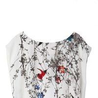 Blusa estampada de la colección primavera/verano 2014 de Lavand
