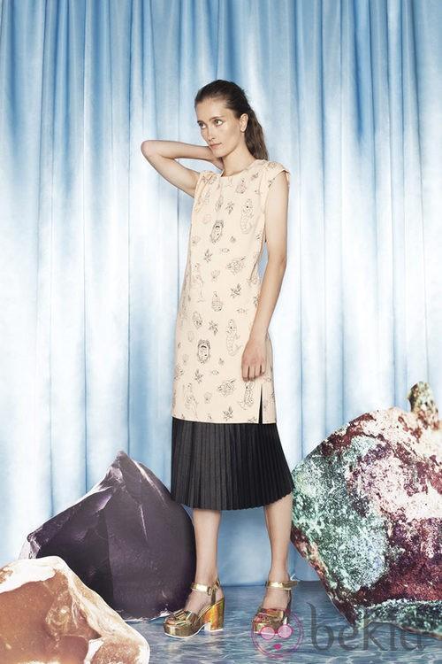 Vestido de la colección primavera/verano 2014 de Bimba & Lola