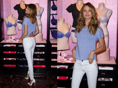 Behati Prinsloo, embajadora de la colección 'T-Shirt Bra' de Victoria's Secret
