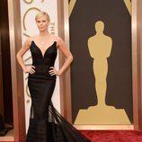 Charlize Theron vestida de Dior en la alfombra roja de los Premios Oscar 2014