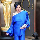 Liza Minnelli con un conjunto Halston en los Oscar 2014