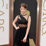 Anna Kendrick con un vestido de J. Mendel en los Oscar 2014