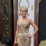 Kristin Chenoweth con un vestido de Roberto Cavalli en los Oscar 2014