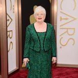 June Squibb vestida de Tadashi Shoji en los Oscar 2014