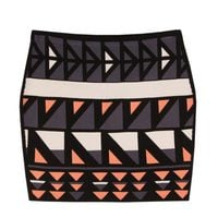 Falda ajustadada de tubo estampada de la colección primavera/verano 2014 de Rachel Roy