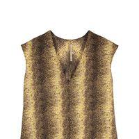 Blusa estampada de leopardo de la colección primavera/verano 2014 de Rachel Roy