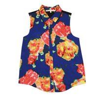 Blusa de tirantes estampada de la colección primavera/verano 2014 de Rachel Roy