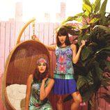 Conjuntos en tonos azul y aguamarina de la colección primavera/verano 2014 de Smash!