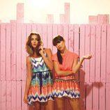 Conjuntos con estampado étnico en tonos coral de la colección primavera/verano 2014 de Smash!