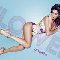 Belén Rodríguez con sandalias planas de la colección primavera/verano 2014 de Trendy Too