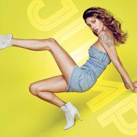 Belén Rodríguez con botines de tacón de la colección primavera/verano 2014 de Trendy Too