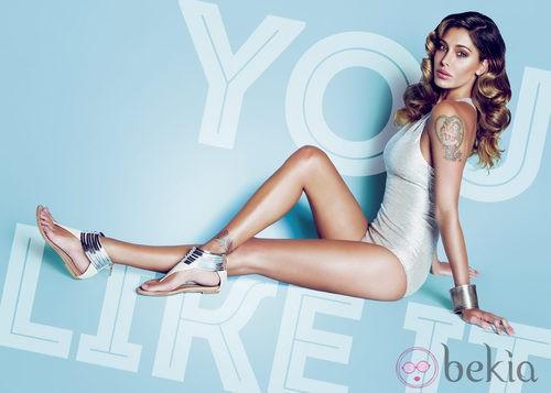 Belén Rodríguez, embajadora de la colección primavera/verano 2014 de Trendy Too