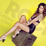 Belén Rodríguez con zapatos de tacón de la colección primavera/verano 2014 de Trendy Too