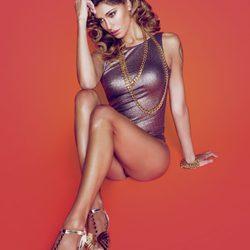 La modelo argentina Belén Rodríguez, imagen de la colección primavera/verano 2014 de Trendy Too