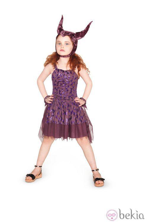 Disfraz de niña inspirado en 'Maléfica' de Stella McCartney