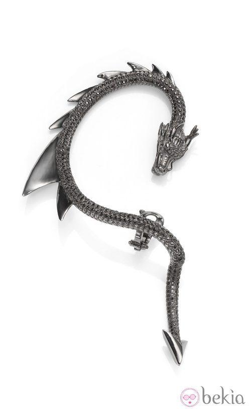 Ear cuff inspirado en 'Maléfica' de Crow's Nest