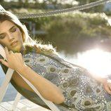 Vestido con estampado geométrico de la colección primavera/verano 2014 de Indi & cold