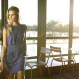 Vestido azul rey de la colección primavera/verano 2014 de Indi & cold